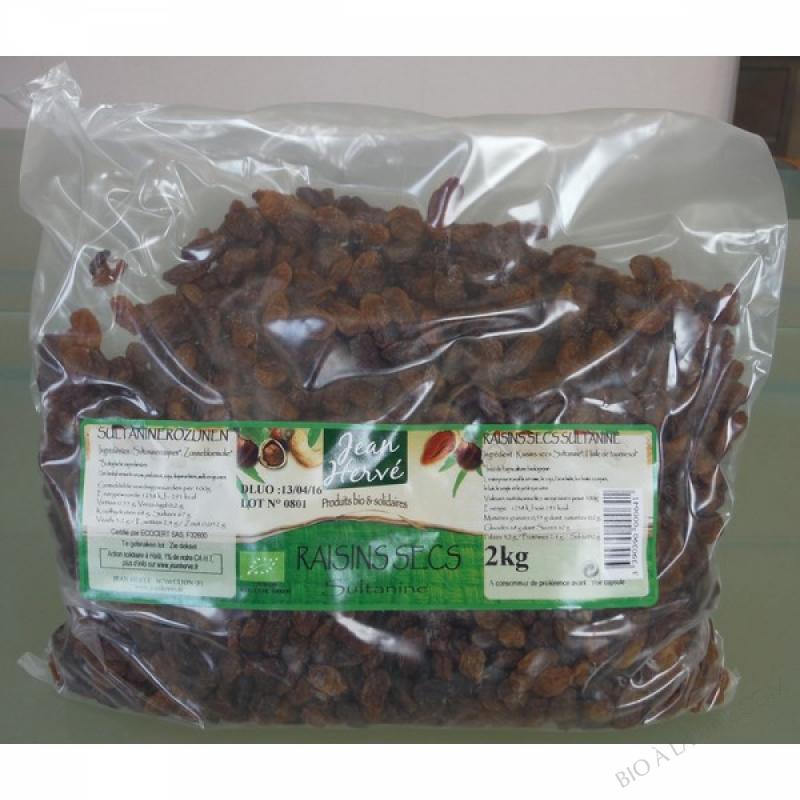 Raisins secs 2kg