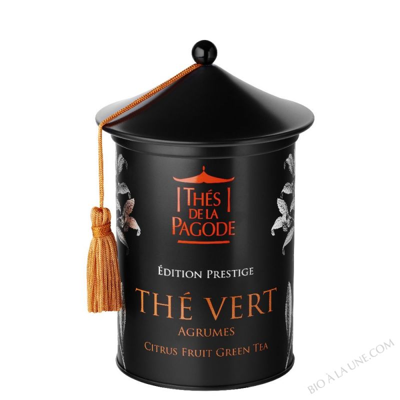 Thé vert aux agrumes bio Edition Prestige - 100g
