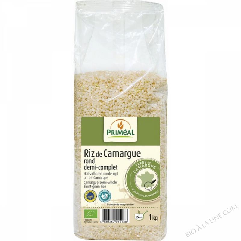 Riz Rond 1/2 Complet Camargue 1kg