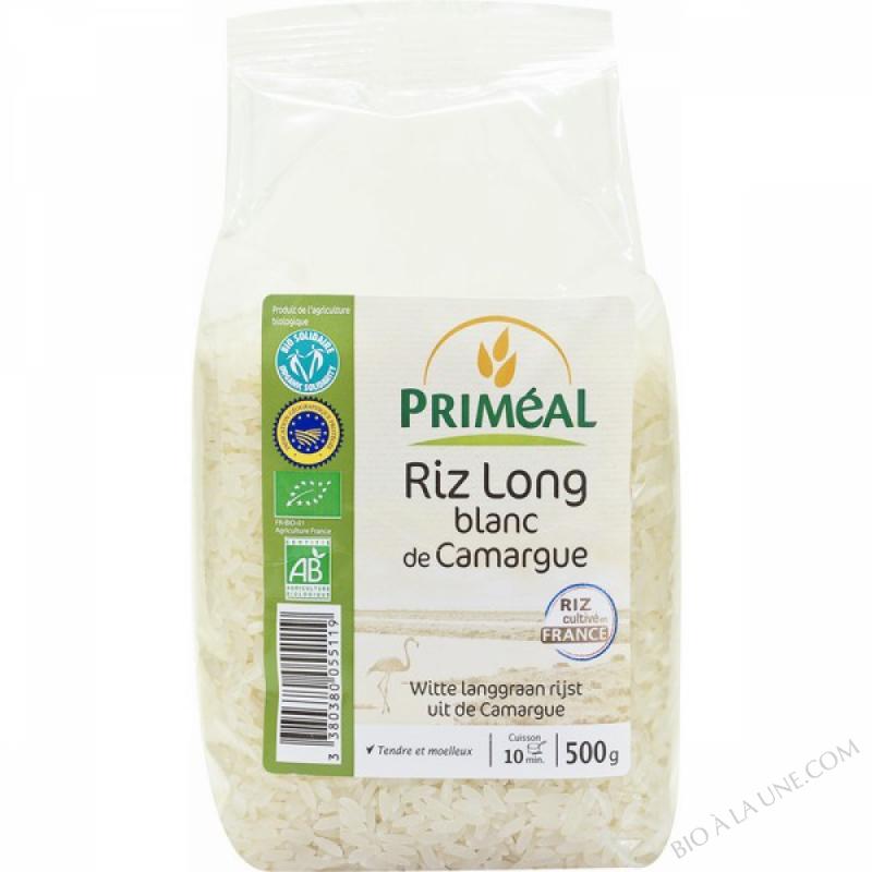 Riz Long Blanc de Camargue 500g
