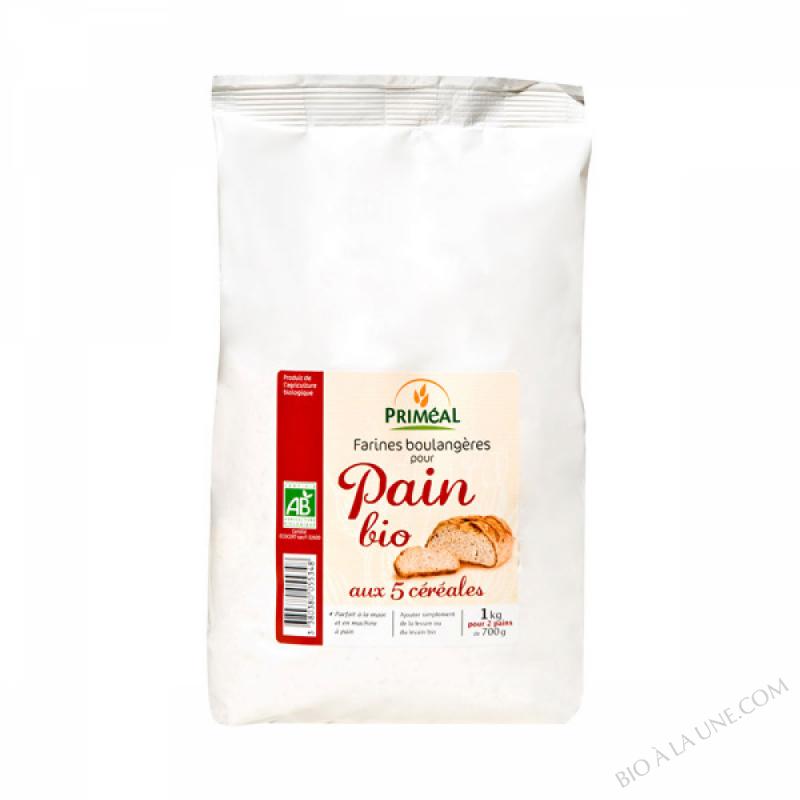 Farine de Pain Bio 5 cereales 1kg