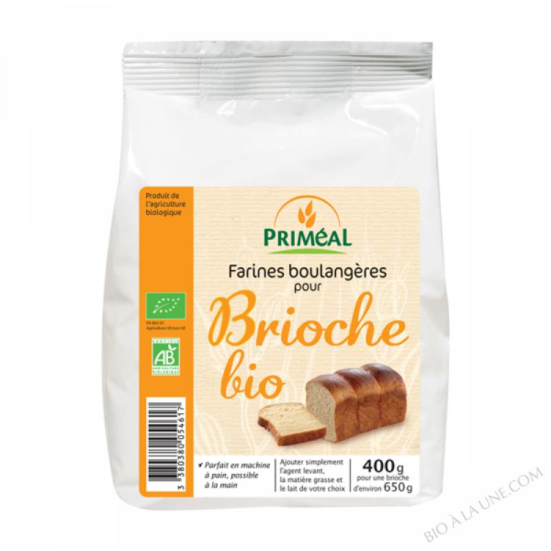 Farine Bio pour Brioche