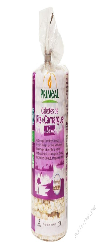 Galettes de riz de Camargue au sesame 130g