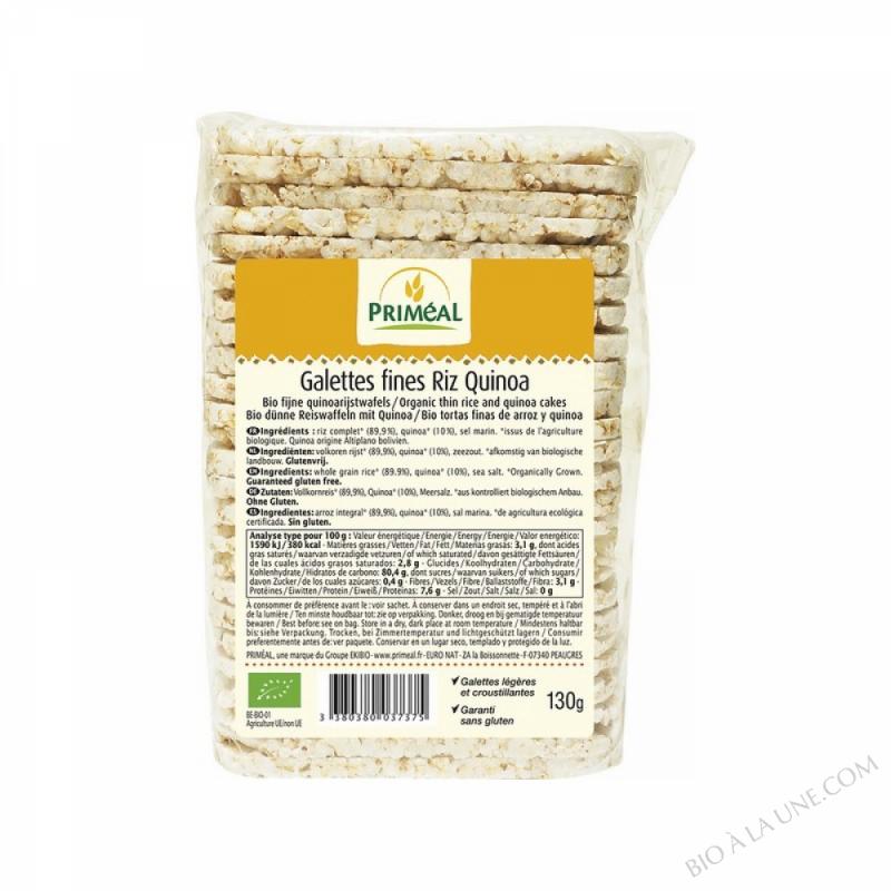 Galettes Fine de Riz au Quinoa