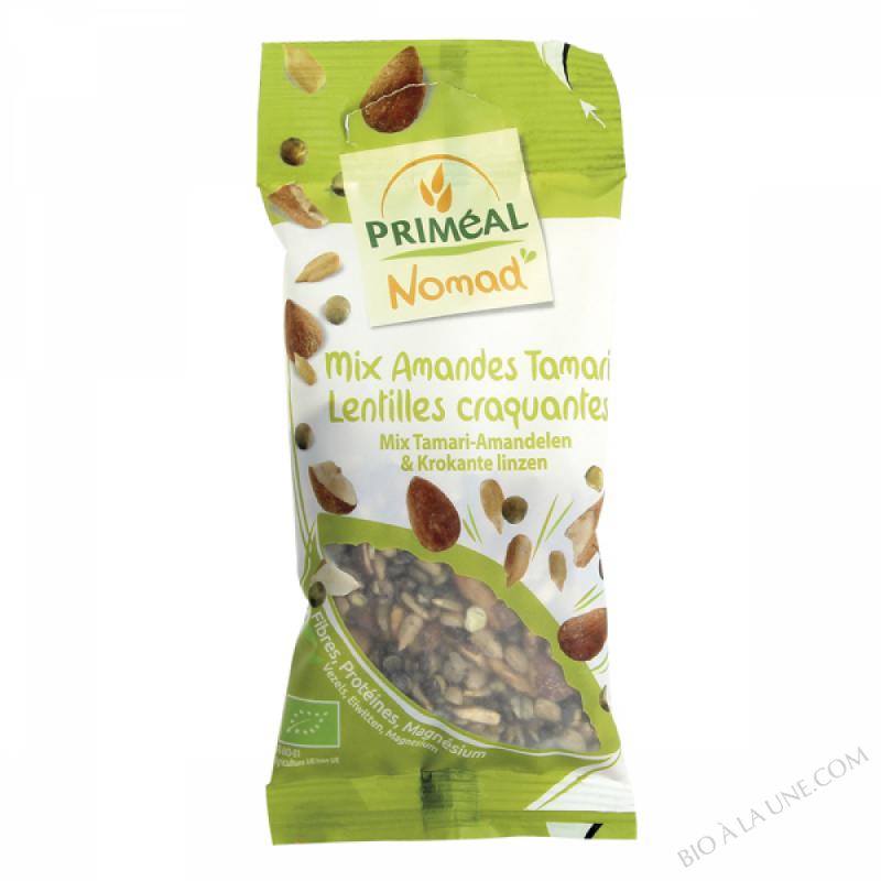 Mix Amandes Tamari  Lentilles craquantes - 40g