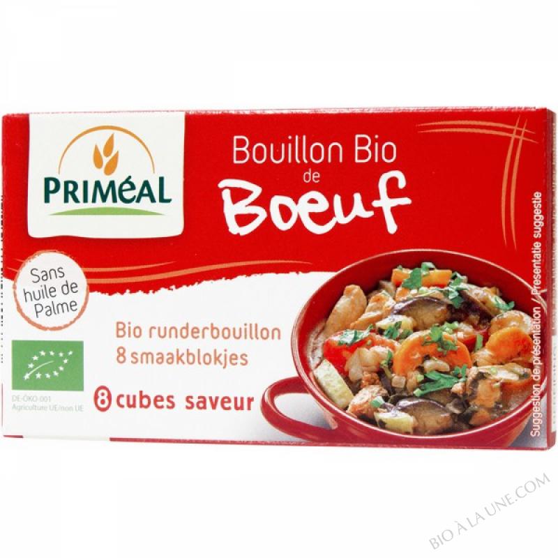 BOUILLON DE BOEUF BIO EN CUBE - 80G