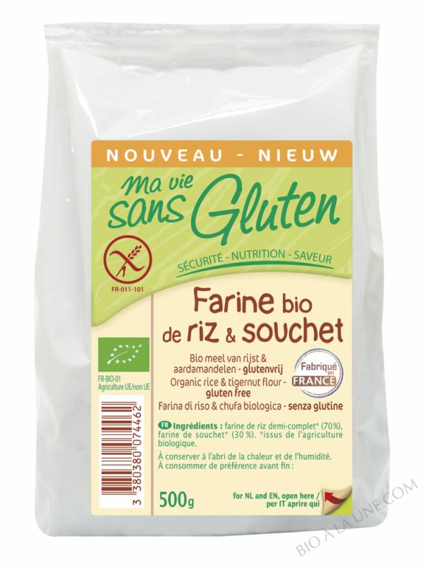 Farine riz & souchet 500g
