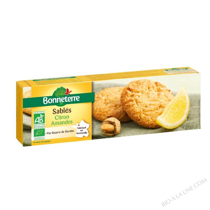 Sablés Citron Amandes (pur beurre)