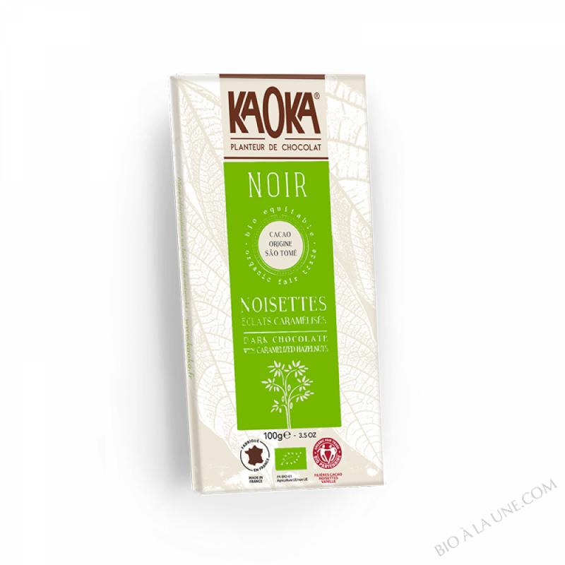 Chocolat Noir 66% Noisettes 100g