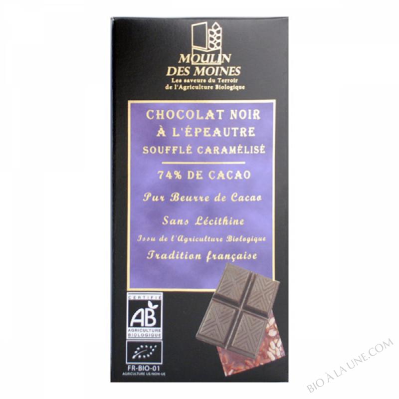 Chocolat Noir Epeautre BIO 100g