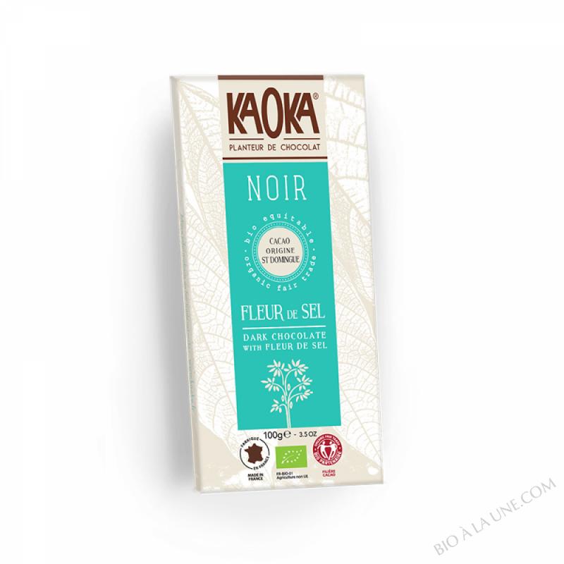 Chocolat noir 70% Fleur de Sel 100g