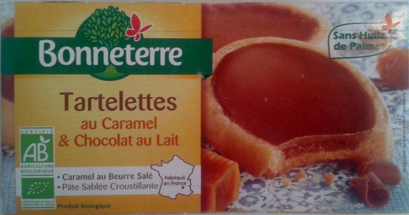 TARTELETTES CARAMEL ET CHOCOLAT AU LAIT (SANS HUILE DE PALME) 12