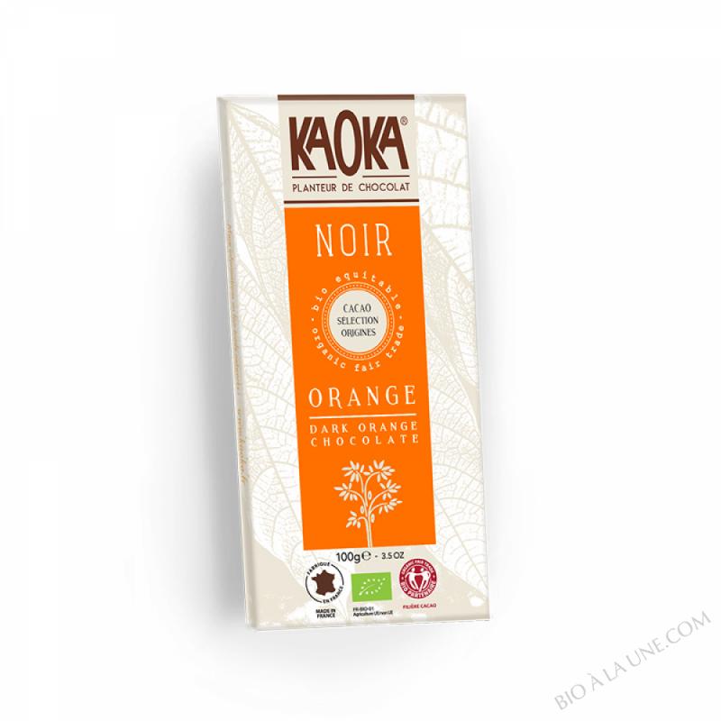 Chocolat Bio Noir Orange 100g