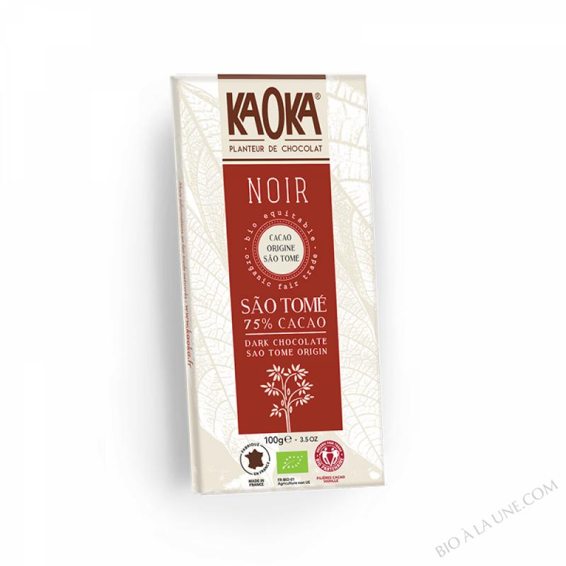 Chocolat Noir 75% Sao Tome 100g