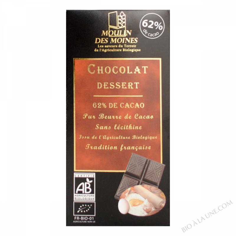 Chocolat Noir Dessert BIO 100g