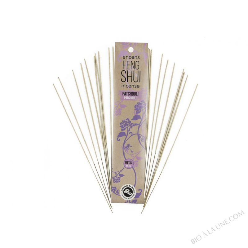 ENCENS FENG SHUI  METAL / PATCHOULI AROMANDISE
