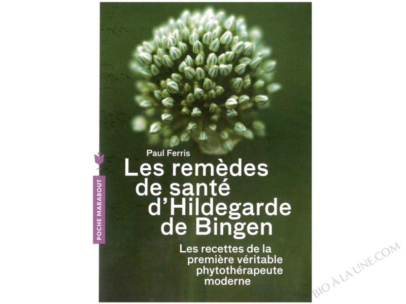 LIVRE HILDEGARDE DE BINGEN - EDITION MARABOUT. 182 PAGES