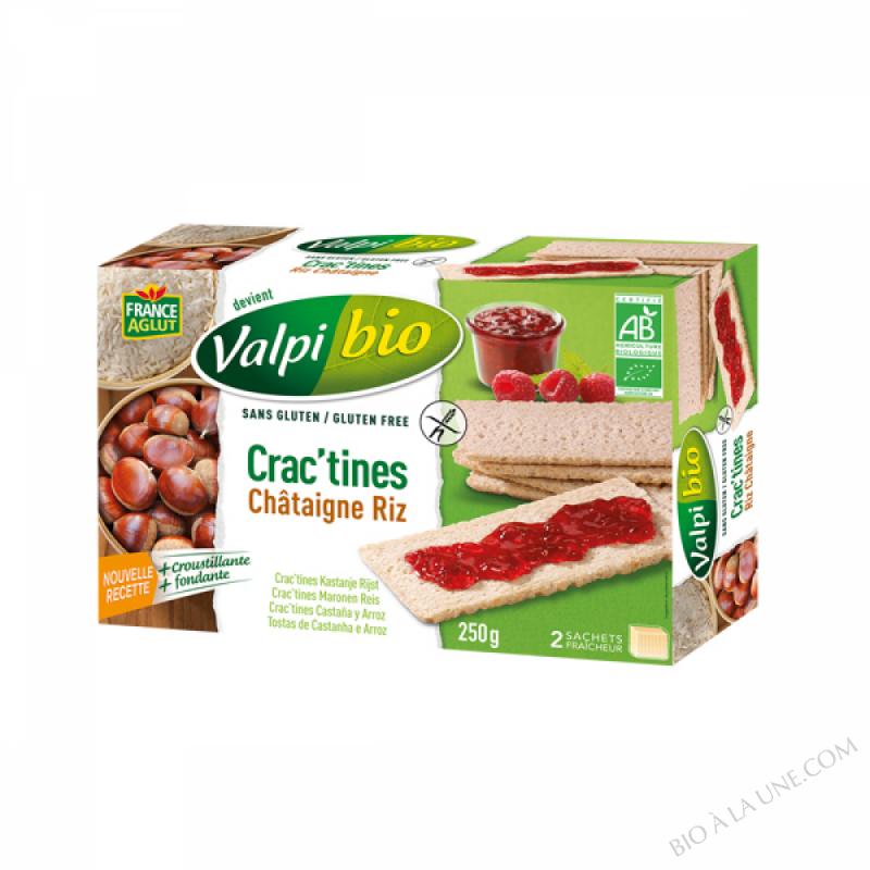 CRAC'TINE CHATAIGNE BIO-SG250G - 250g
