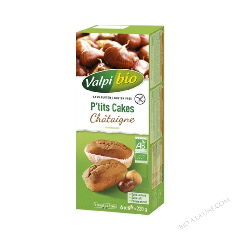 CAKE CHATAIG. S/GLUT 220G VALPIBIO