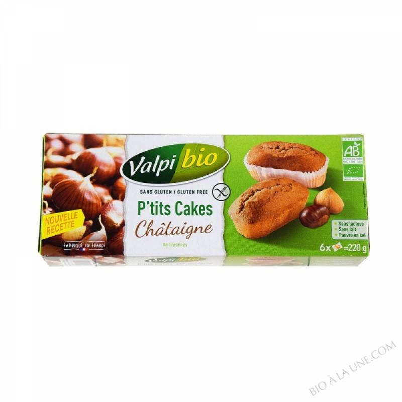 CAKES CHATAIGNE VPB - 220g