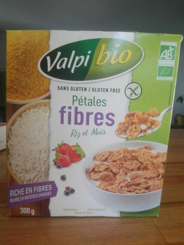 Petales fibres Mais et Riz Bio 300g
