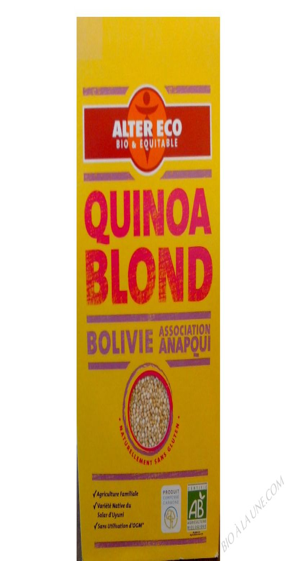 Quinoa Blond bio 500g