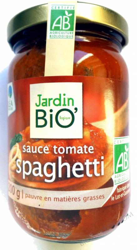 Sauce tomate spaghetti 200gr