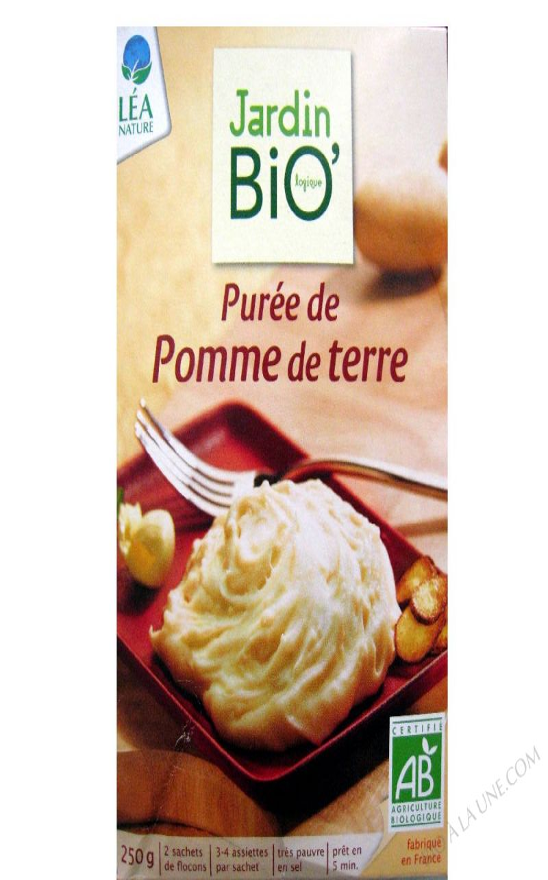 Purée de pomme de terre - 250 g (2 x 125 g)