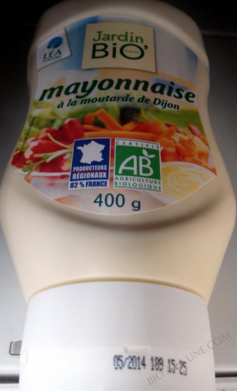 Mayonnaise à la moutarde de Dijon- 400 g