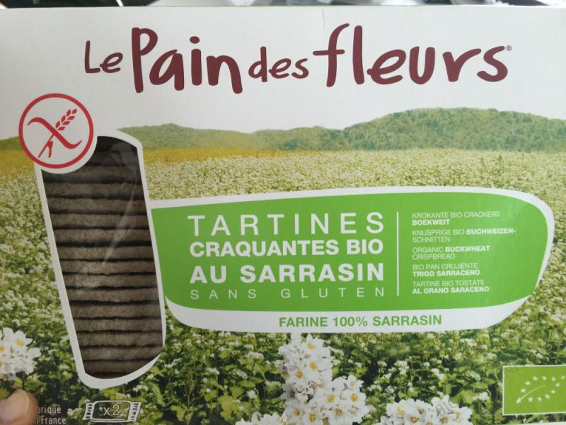 Tartines craquantes bio au sarrasin-