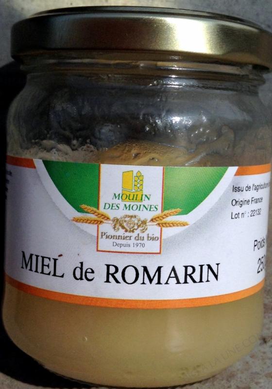 Miel de romarin bio - 250 g