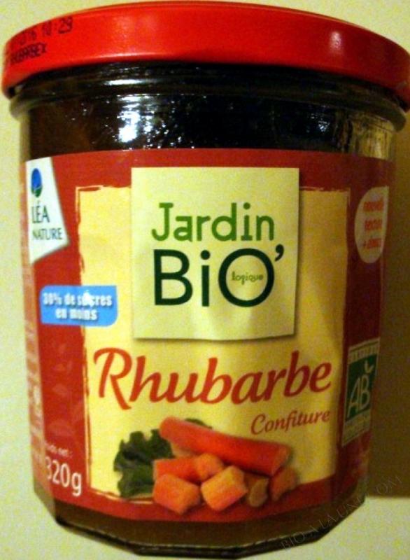 Confiture Rhubarbe- 320 g