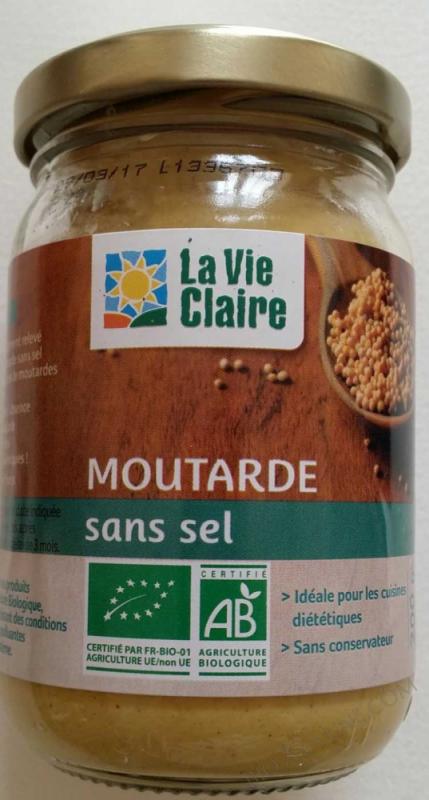 Moutarde sans sel- 200 g