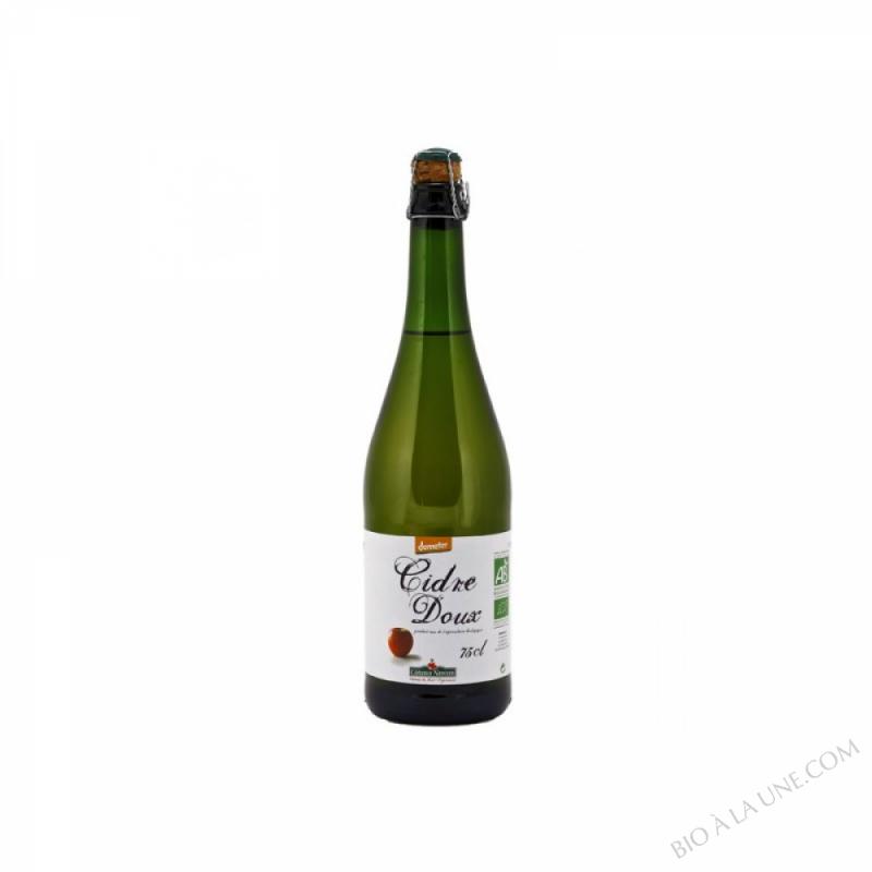 Cidre doux Bio et Demeter 75cl