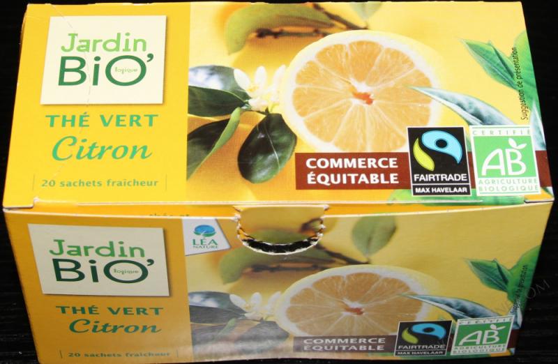 Thé vert citron- 30 g
