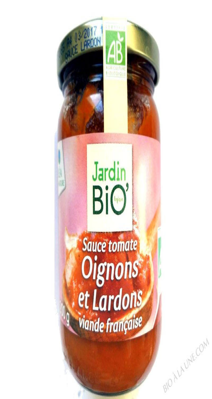 Sauce tomate Oignons et Lardons- 200 g