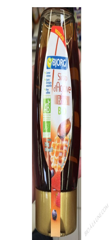 Sirop d'Agave brun bio- 250 g / 181 ml