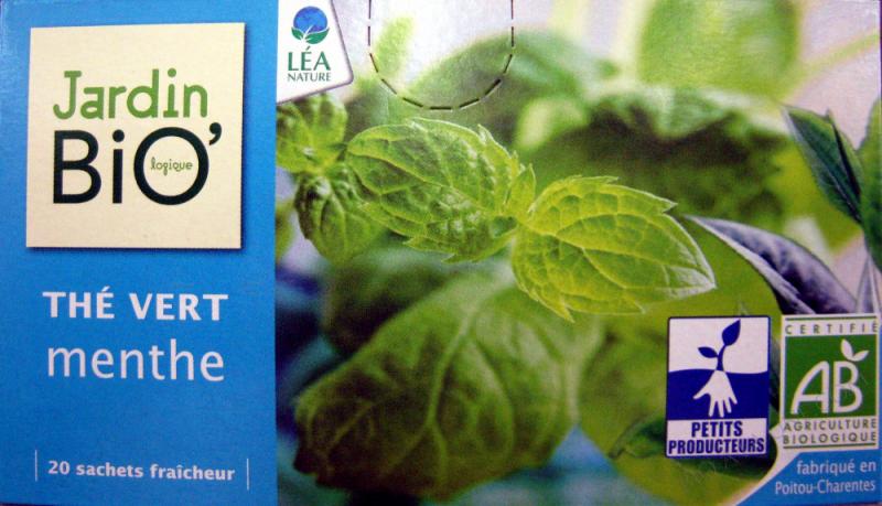 The vert menthe - 20 sachets