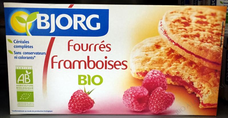 FOURRÉS FRAMBOISES BIO- 175 G