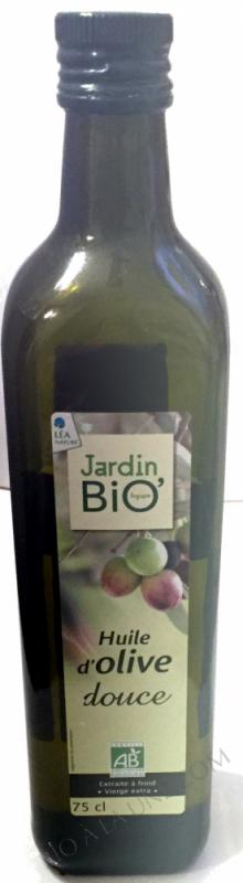 Huile d'Olive douce Bio- 75 cl