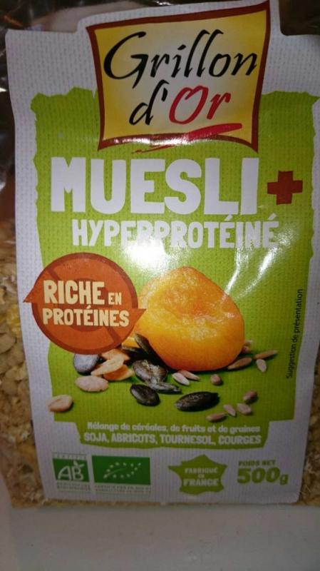 Muesli Plus hyperproteine 500gr
