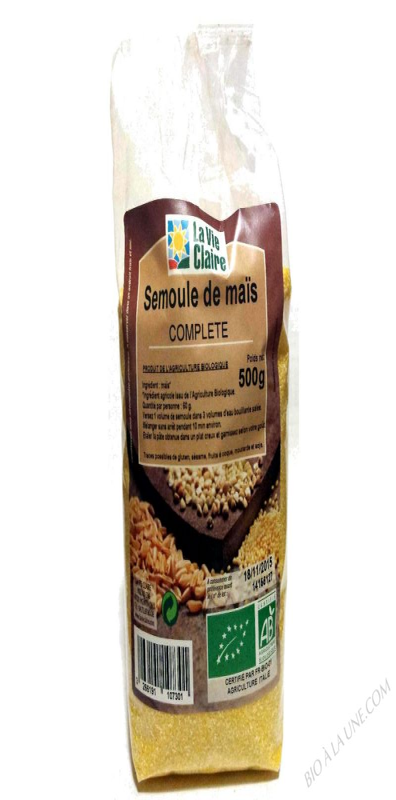 Semoule de maïs- 500 g