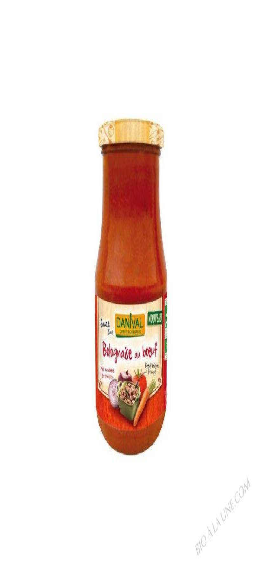 Sauce bolognaise au boeuf- 430 g