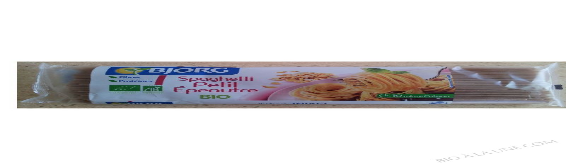 Spaghetti Petit Épeautre Bio- 250 g