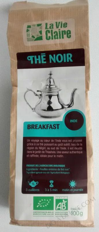Thé noir breakfast- 100 g