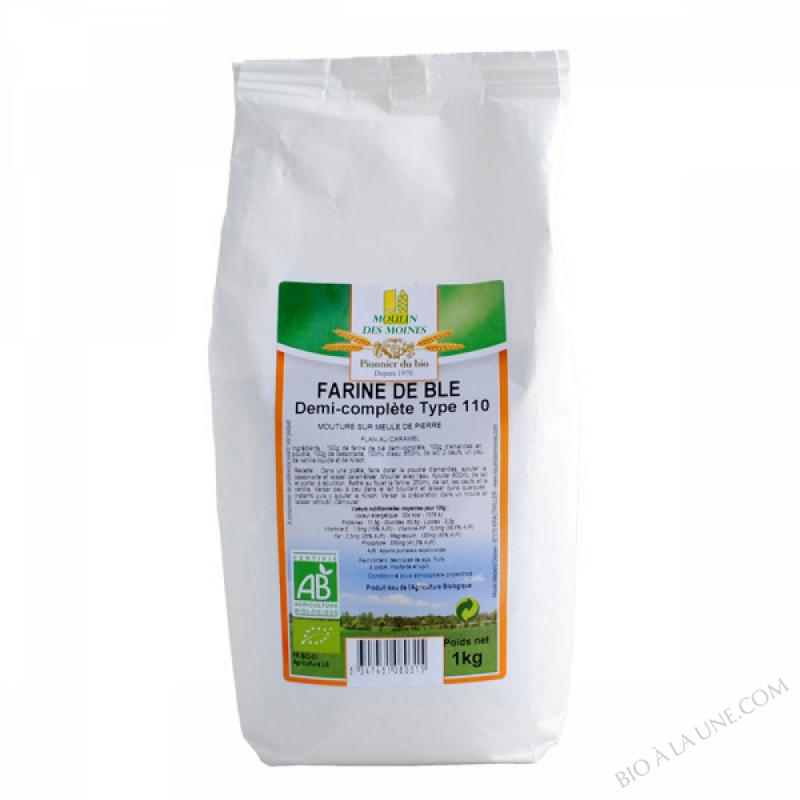Farine de Ble T110 1kg