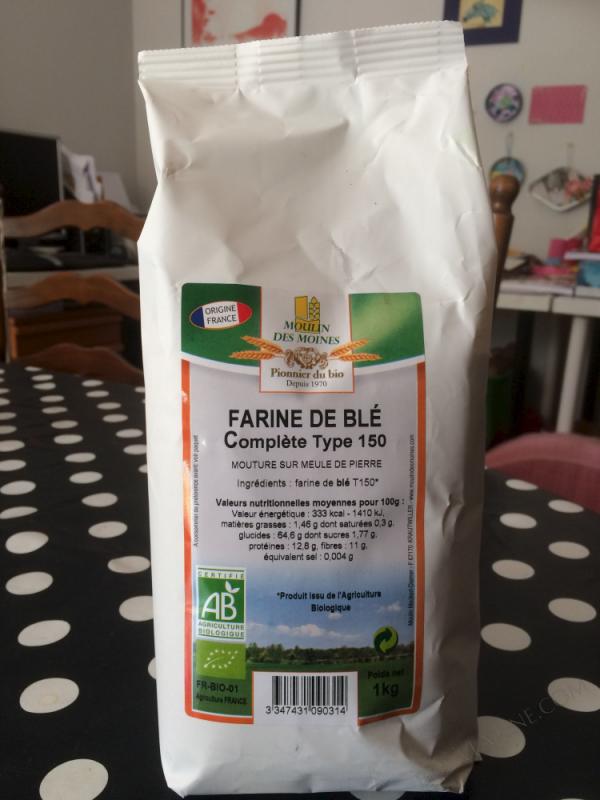 Farine de Ble T150 1kg