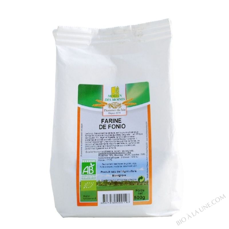 Farine de Fonio 2,5 Kg