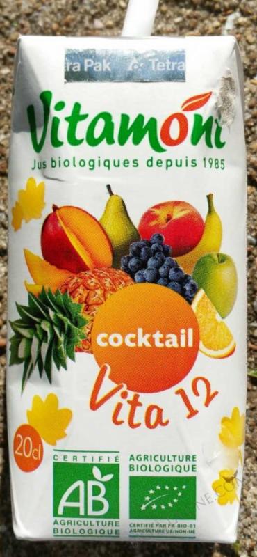 Tetra Pak Vita 12 Fruits Bio 20cL