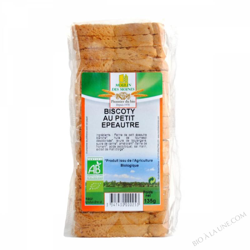 Biscoty de petit epeautre bio - 135g